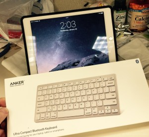 bluetooth keyboard anker review