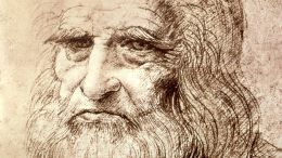 da vinci art evolution man