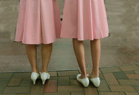 Дължина на полатъа под и над коляното