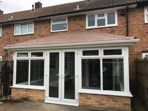 Completed conservatory roof