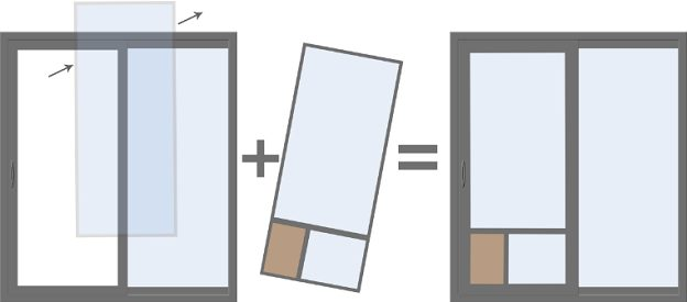 dog door sliding glass doors