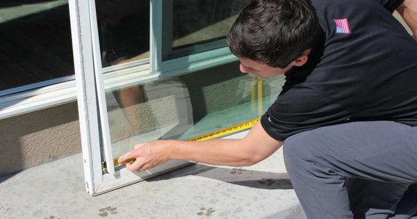 install pet door diy doggy door by