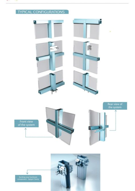 Curtain Wall System Manufacturers : Facade thermal curtain wall advance fenestration