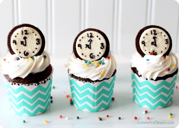 Happy New Years Eve Countdown Cupcakes