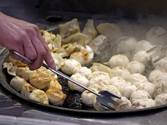 Chinese New Year Food Dumplings