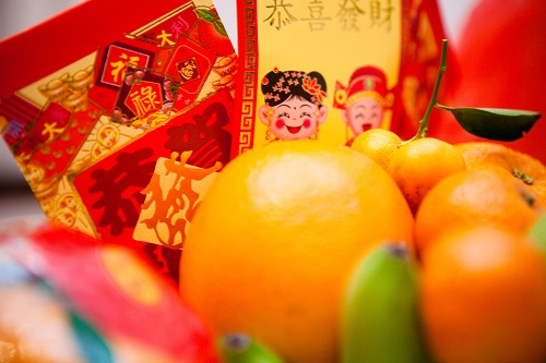 Chinese New Year Fortune Fruits