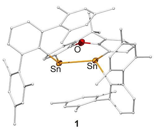 Side On Coordinated Distannene An Unprecedented Nickel0 Complex