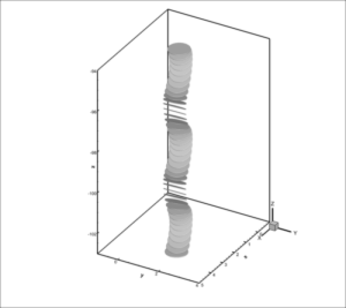3D_Tumbling_Gray - An immersed boundary-lattice Boltzmann flux solver in a moving frame to study three-dimensional (3D LBFS) freely falling rigid bodies - Advances in engineering