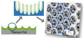 Self-ordering dual-layered honeycomb nanotubular titania: Enhanced structural stability and energy storage capacity- feature on Advances in Engineering