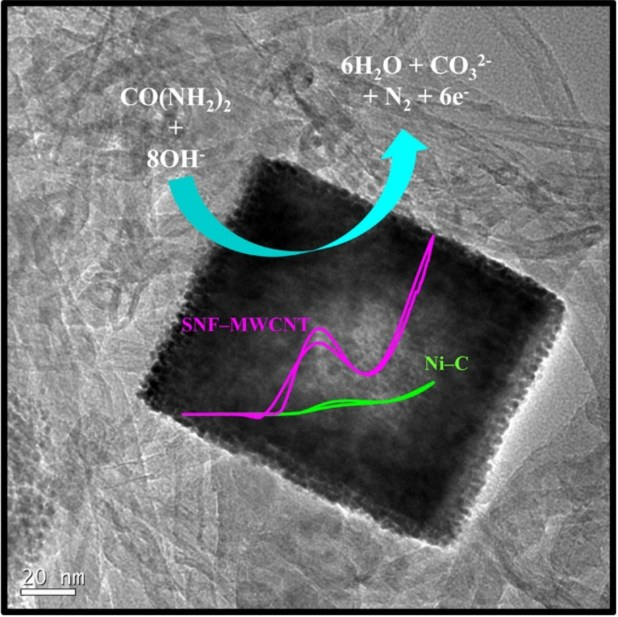 Hollow Sodium Nickel Fluoride Nanocubes Deposited MWCNT as an Efficient Electrocatalyst for Urea Oxidation. Advances in Engineering