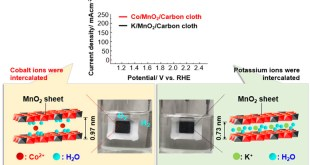 A binder-free thin film anode composed of Co2+-intercalated buserite grown on carbon cloth for oxygen evolution reaction. Advances in Engineering