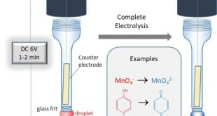 Fast and complete electrochemical conversion of solutes contained in micro-volume water droplets-Advances in Engineering