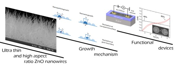 Hydrothermal growth of ultra-thin and high aspect ratio ZnO nanowires, Advances in Engineering