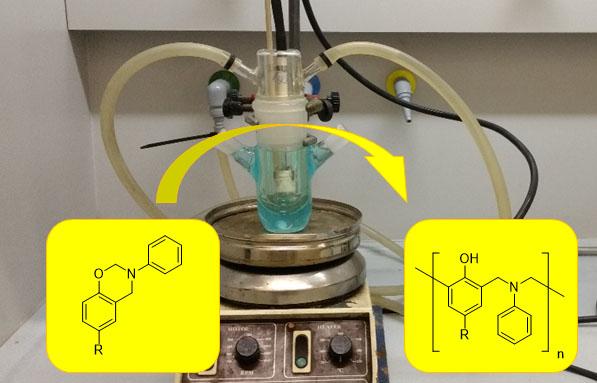 Sustainable photopolymerization of benzoxazines- Advanced Engineering