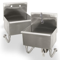 advance tabco mop and service sinks