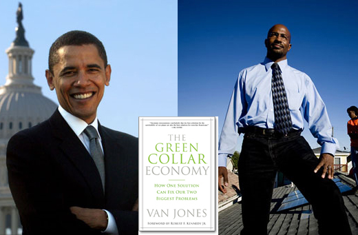 Van Jones & Obama: representing the pitfalls of the left in 2009