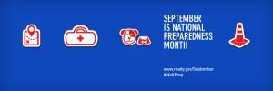 September is National Preparedness Month, www.ready.gov/September #NatlPrep