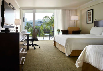Aruba Marriott Queen/Queen room