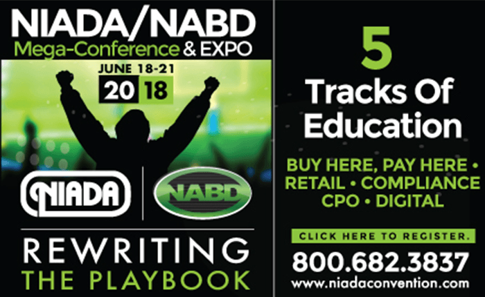 NIADA 2018 Conference - Orlando - Advantage GPS