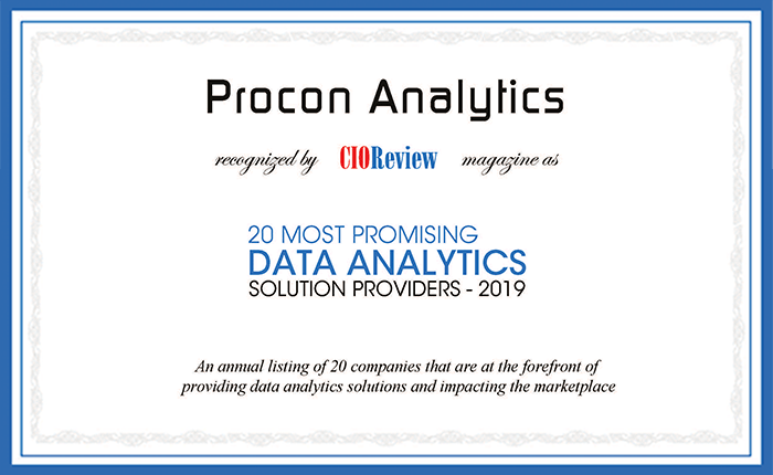 CIOReview cites Procon Analytics as one of the top 20 companies - Advantage GPS