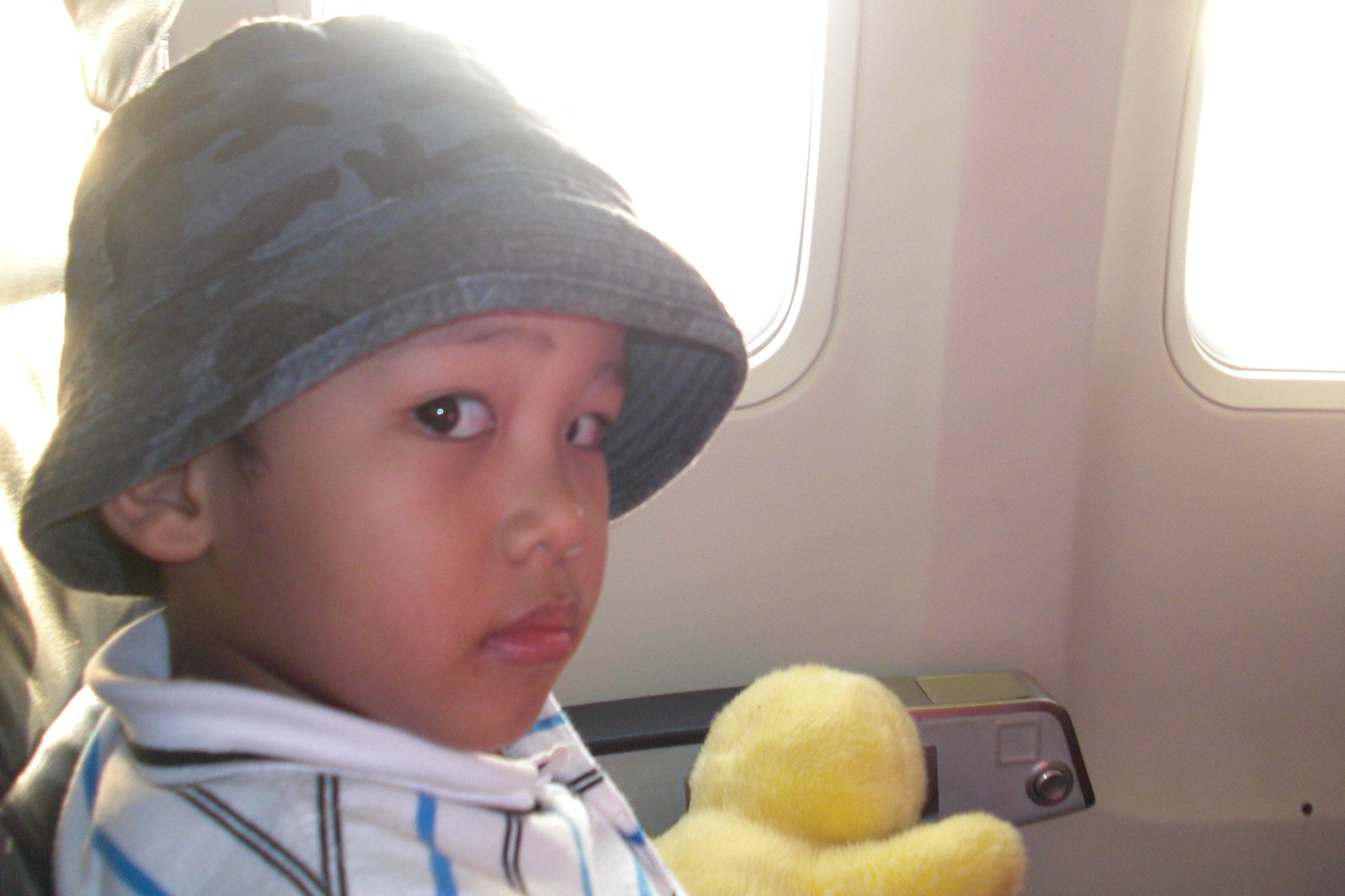 abang di pesawat
