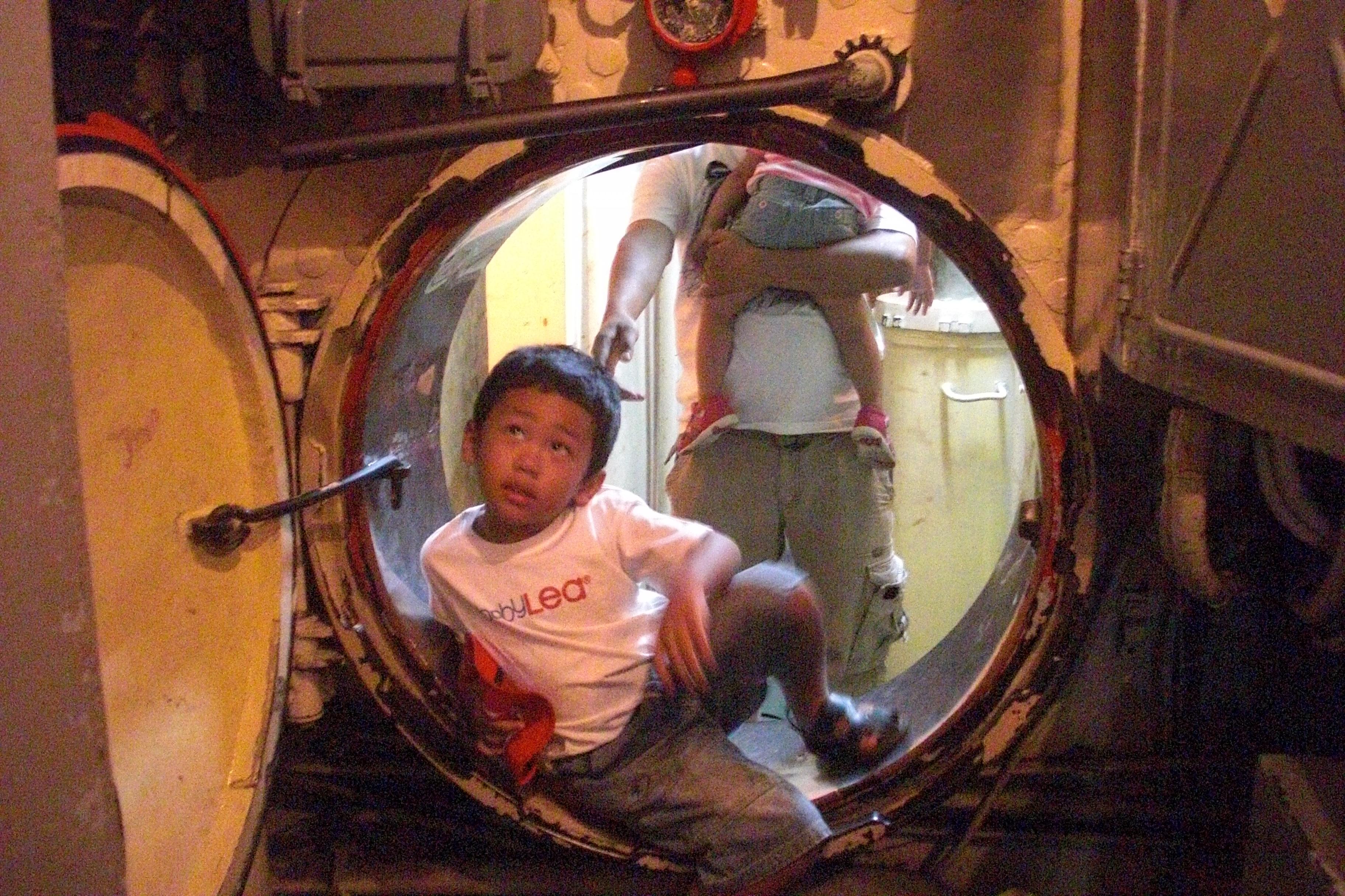 dalam kapal selam