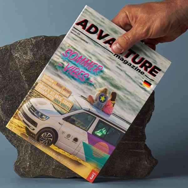 Advanture Magazine issue 03 DE print edition