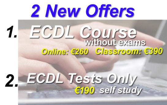ecdl course offer