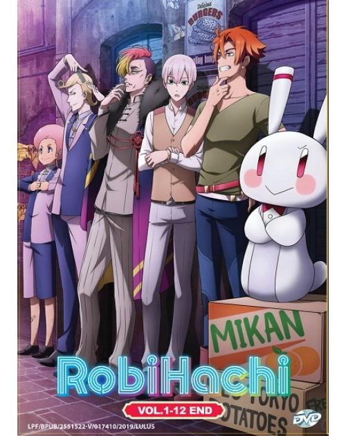 * ENG DUB * ROBIHACHI VOL.1-12 END DVD