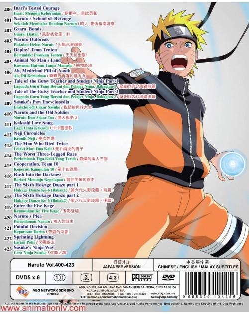 NARUTO (TV 400 - 423) BOX 12 DVD