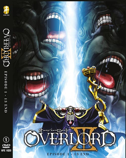 OVERLORD SEASON 3 VOL.1-13 END *ENG DUB*