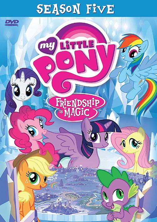 MY LITTLE PONY: FRIENDSHIP IS MAGIC SEASON 5 VOL.1-26 END
