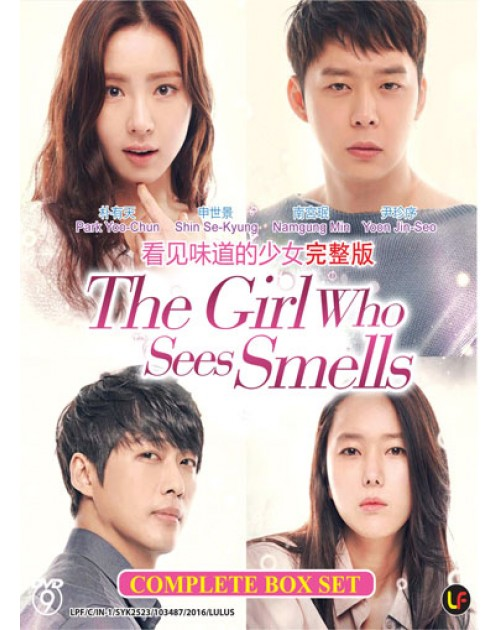 THE GIRL WHO SEES SMELLS