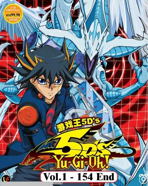 YU GI OH! 5D'S (TV 1 - 154 END) DVD