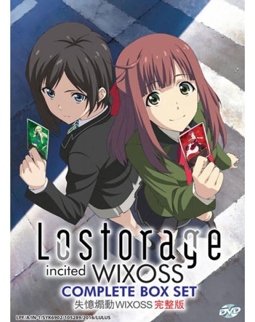 LOSTORAGE INCITED WIXOSS VOL.1-12 END