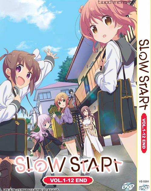 Slow Start Vol.1-24 End DVD