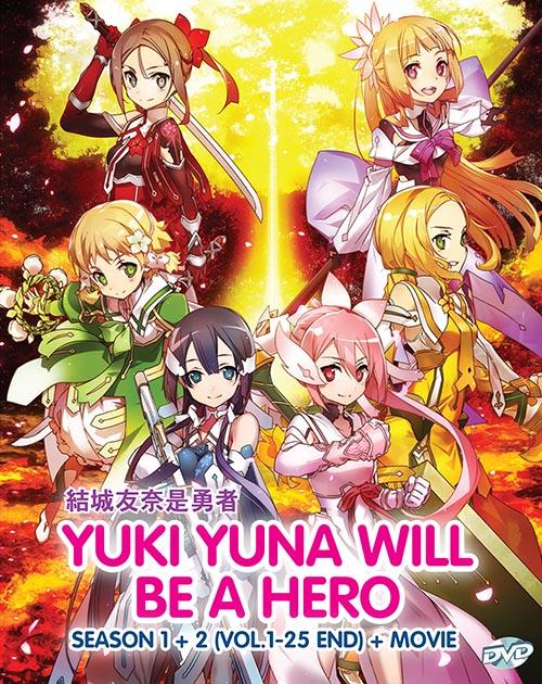 Yuki Yuna Will Be A Hero DVD