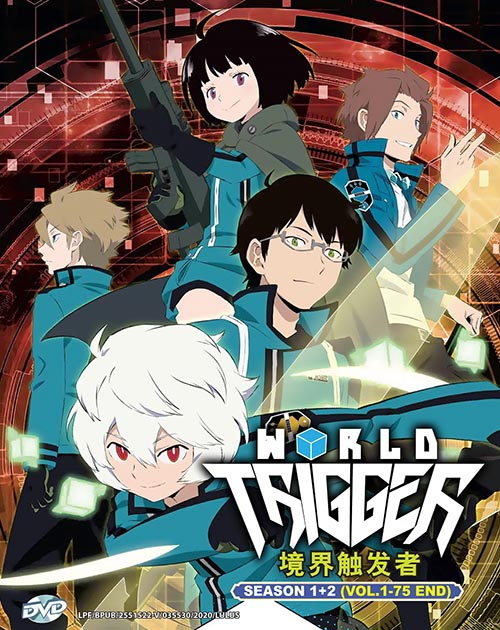 World Trigger Season 1-2 Vol.1-75 End DVD