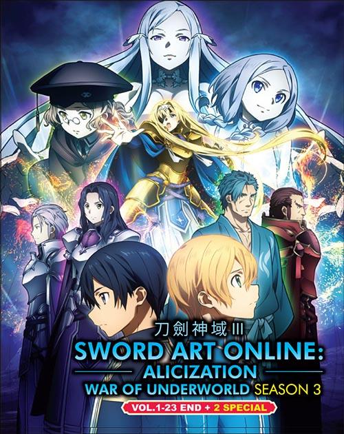 Sword Art Online: Alicization : War of Underworld (Season 3)