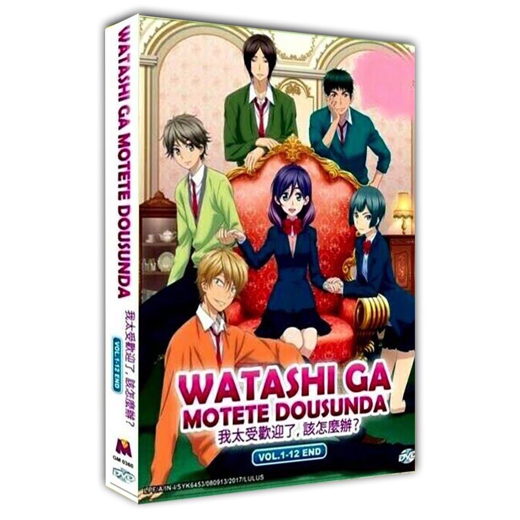 Watashi ga Motete Dousunda Vol.1-12 End DVD