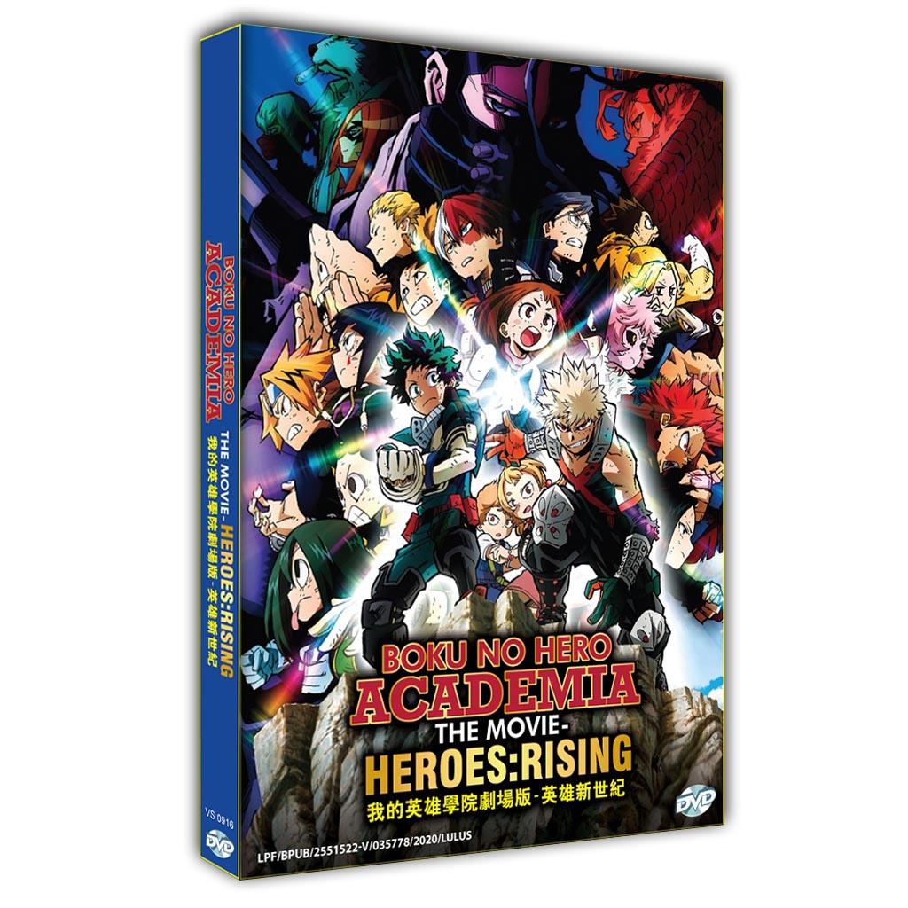 Boku No Hero Academia The Movie-Heroes: Rising
