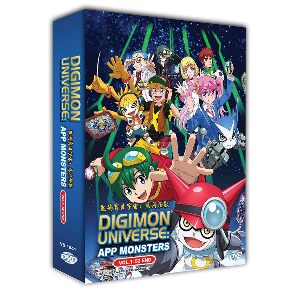 Digimon Universe: App Monsters Vol.1-52 End