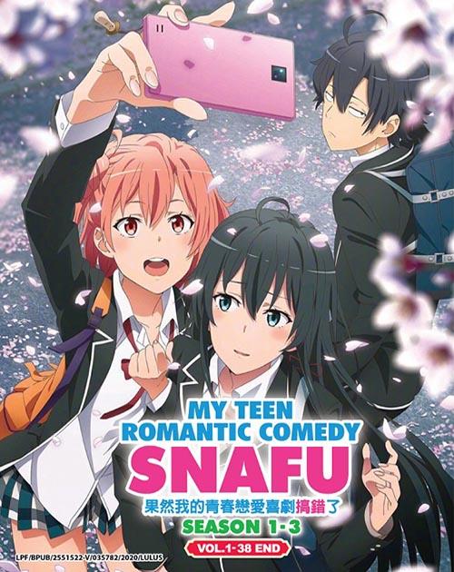 My Teen Romantic Comedy:Snafu Season 1-3(Vol.1-38 End)