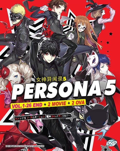 Persona 5 The Animation Vol.1-26 End + 2 Movie+ 2 Ova