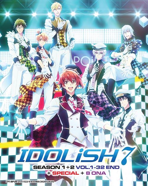 Idolish7 Season 1-2 Vol.1-32 End - Special - 8 Ona DVD