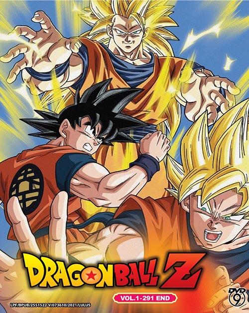 Dragon Ball Z Vol.1-291 End DVD
