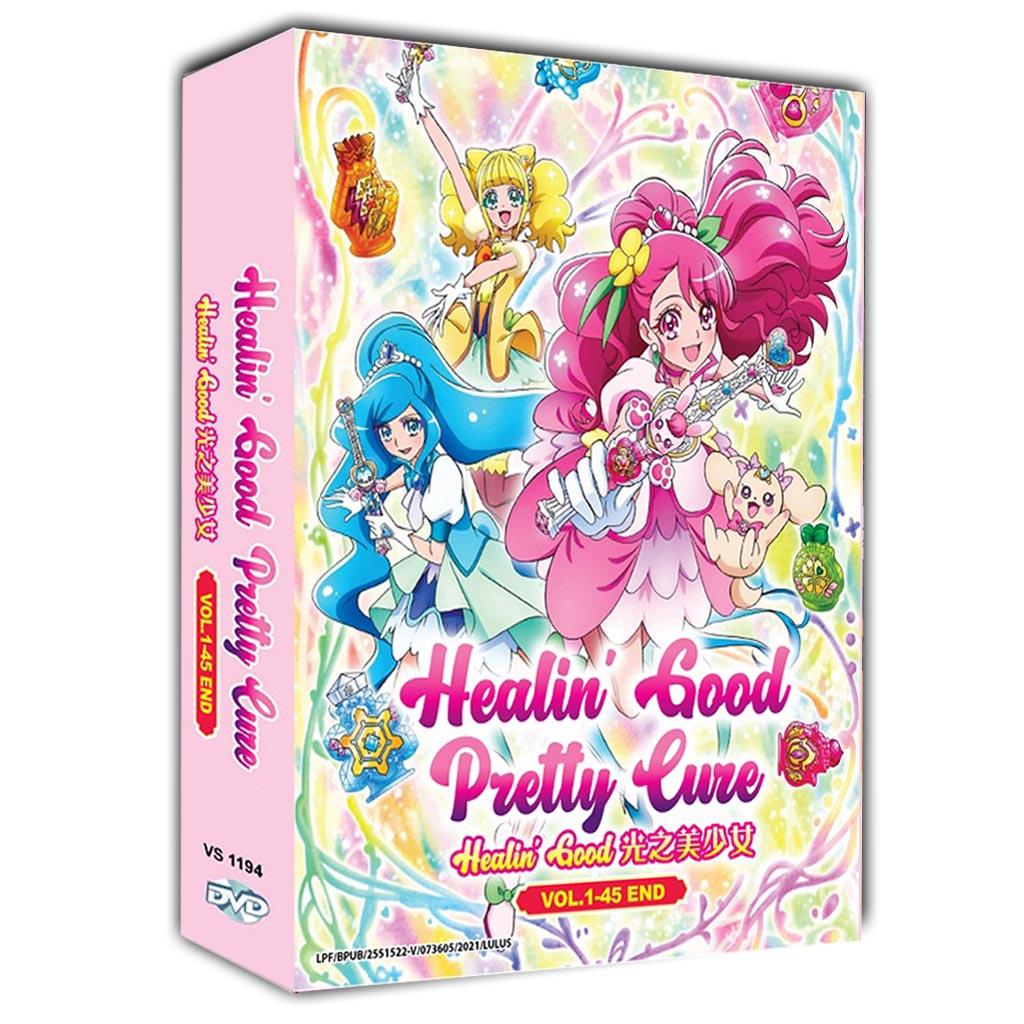 Healin' Good Pretty Cure Healin' Good ♥ Vol.1-45 End DVD