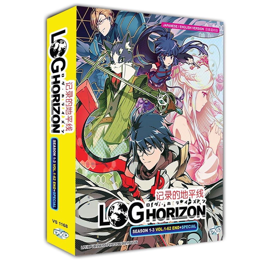 Log Horizon Season 1-3 Vol.1-62 End - Special dvd