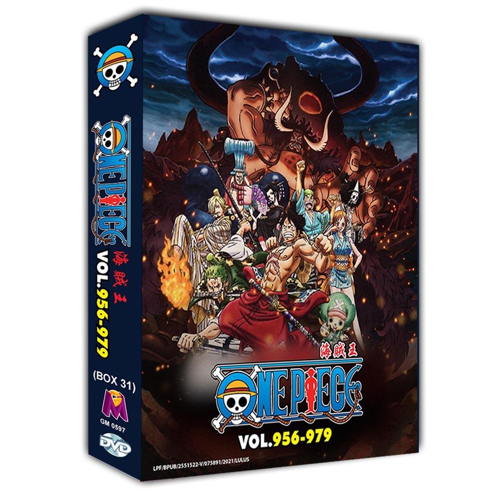 One Piece Box31 (Vol.956-979) DVD