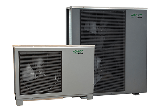 Adveco FPi Air Source Heat Pumps.